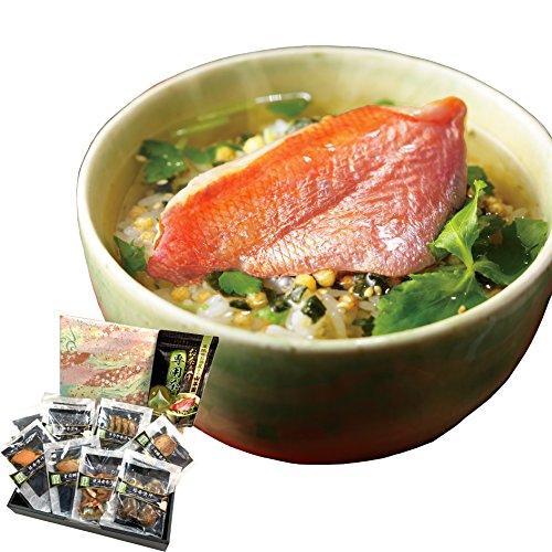 【高級 ギフト】【高級お茶漬けセット 8食入り(お茶漬け専用茶付き)】