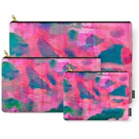 Society6 Abstract Fifteen Carry-All Pouch Set of 3