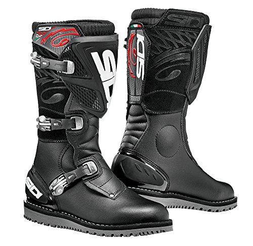 Sidi Trialゼロ1バイクトライアルDirt Off Road Motorcycle Boots–ブラック47
