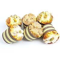 フェイクカップケーキ6個パック 人工の食品 ケーキの食品サンプル キッチンおもちゃ 装飾