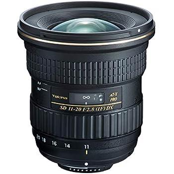 Tokina 超広角ズームレンズ AT-X 11-20 F2.8 PRO DX 11-20mm F2.8 ニコンF用 フード付属 APS-C対応 634387