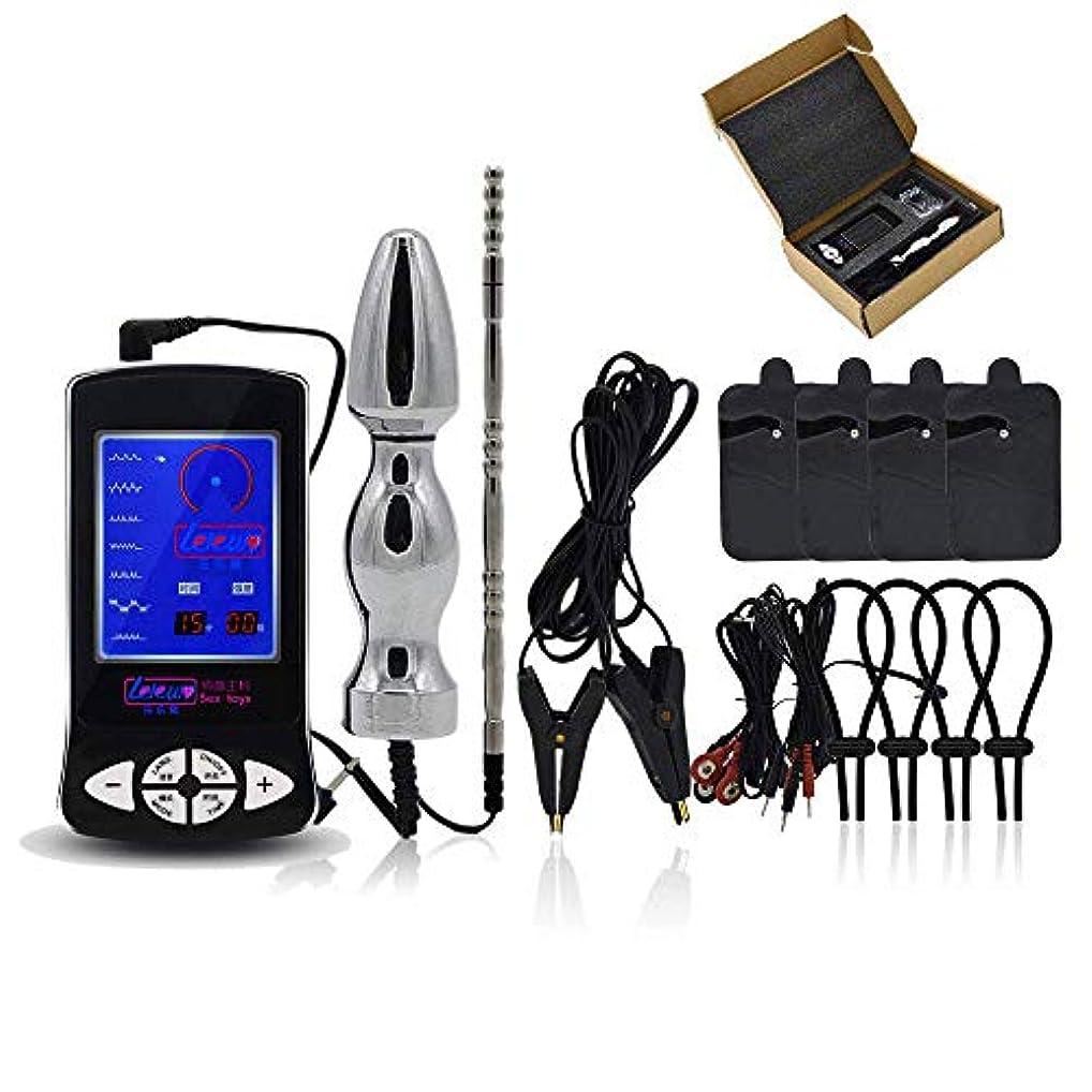 テセウスネクタイポゴスティックジャンプダウンロード電気マッサージ器、電気マッサージ器マッサージキットポータブルステンレス鋼のために使用する自動車とホームオフィスの家族のためのギフト