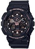 [カシオ]CASIO 腕時計 G-SHOCK ジーショック BLACK & GOLD GA-100GBX-1A4JF メンズ