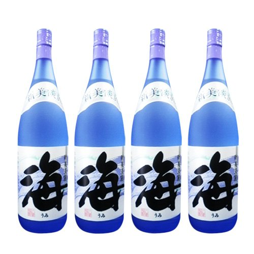 大海酒造 芋焼酎 海 1800ml 4本