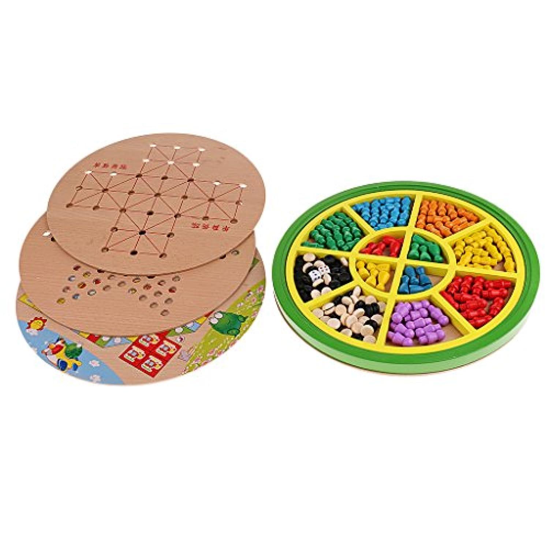Kesoto キッズ おもちゃ チェス チェッカーボード ボードゲーム 子供 贈り物
