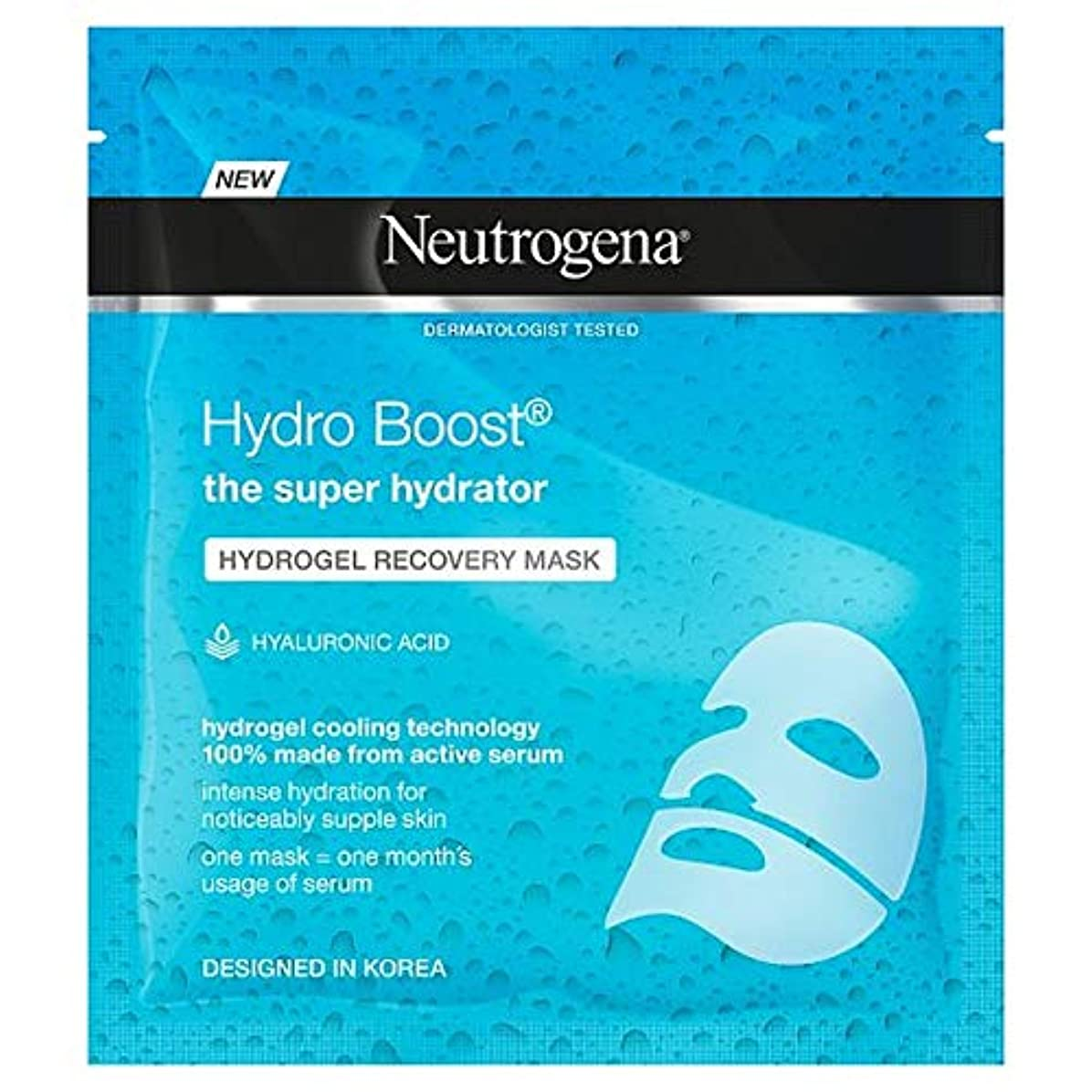 豪華な甥文句を言う[Neutrogena] ニュートロジーナハイドロゲルマスク水和30ミリリットル - Neutrogena Hydro Gel Mask Hydrating 30Ml [並行輸入品]