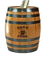 サウザンドオークスバレルDad 's Beer Fund Mini Oak Barrel貯金箱
