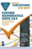 Cover of Cambridge Checkpoints VCE Further Mathematics Units 3 and 4 2019 and QuizMeMore