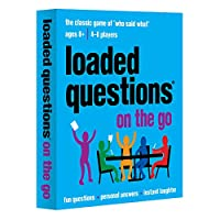 [オールシングスイコール]All Things Equal, Inc. Loaded Questions On The Go card game 20097 [並行輸入品]