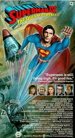 Superman 4 [VHS] [Import]