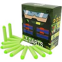 EKIND 100本(10列)ナーフ N ストライク エリート 用 ダーツ矢 おもちゃの弾丸
