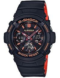 [カシオ]CASIO 腕時計 G-SHOCK ジーショック ブライトオレンジカラー 電波ソーラー AWG-M100SBR-1AJF メンズ