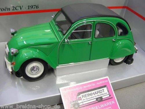 1/18scale ミニチャンプス MINICHAMPS Citroen 2CV 1976 Green シトロエン