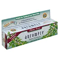 Auromere Freshmint Ayurvedic Toothpaste (Pack of 12) 136 ml