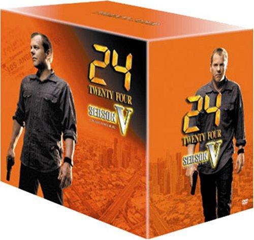 24 -TWENTY FOUR- シーズン5 DVDコレクターズ・ボックスの詳細を見る