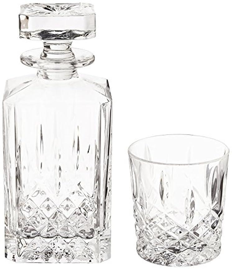 ハイブリッドコモランマ公平な(Decanter Set) - Marquis by Waterford Markham 330ml Double Old Fashioned Glasses Pair and Square Decanter Set,...