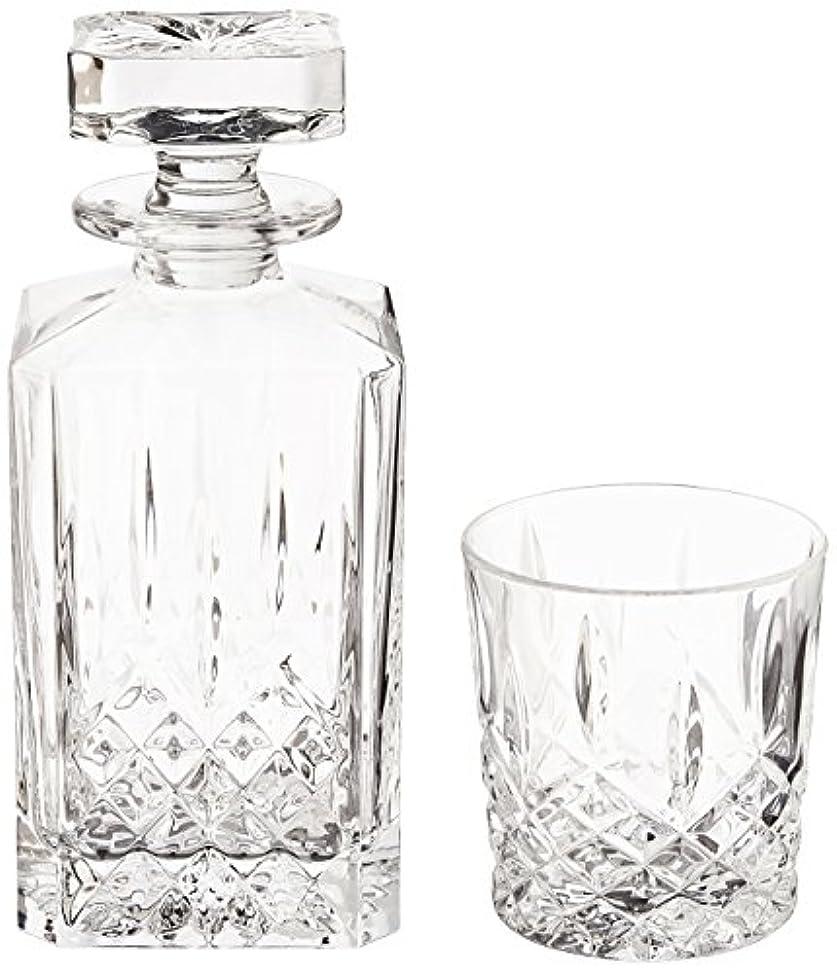 運動保証メンテナンス(Decanter Set) - Marquis by Waterford Markham 330ml Double Old Fashioned Glasses Pair and Square Decanter Set,...
