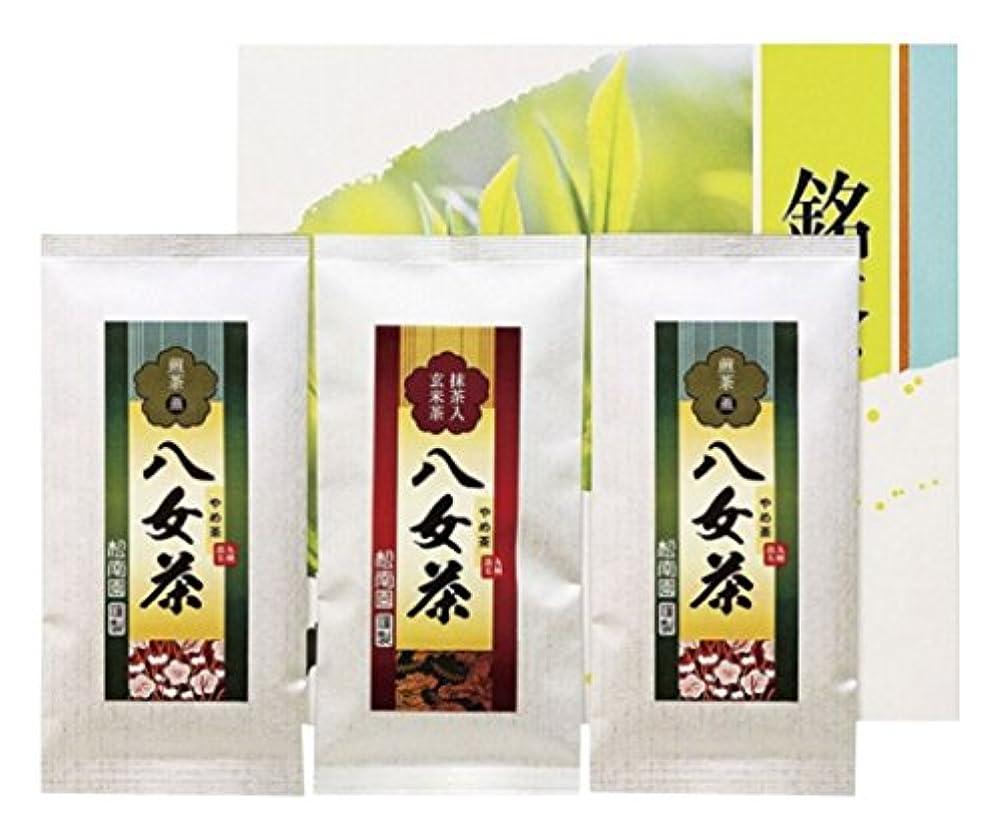 気楽なすべき衰える八女銘茶セット 287-3566-080