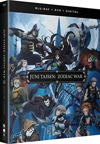 JUNI TAISEN ZODIAC WAR Season 1 Blu-Ray/DVD(十二大戦 全12話)