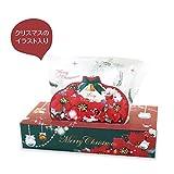 クリスマス BOXティッシュ120W /クリスマス Xmas BOX ティッシュ ノベルティ 1セット/60点( 60点×1ケース ) 【60点】