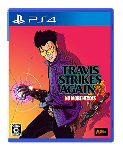 Travis Strikes Again: No More Heroes Complete Edition (【特典】オリジナルステッカー 同梱) 【Amazon.co.jp限定】オリジナルデジタル壁紙(PC・スマホ) 配信