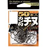 ささめ針(SASAME) 05VRT カン付チヌ フック (黒)徳用50本入 03 釣り針