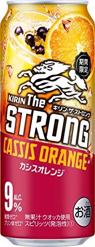 キリン・ザ・ストロング カシスオレンジ 缶 [ チューハイ 500ml×24本 ]