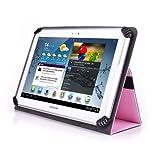 Sharp Aquos Pad sh-06F 10.1インチタブレットケース–Unigrip 10Edition–ピンク–by Cush Cases