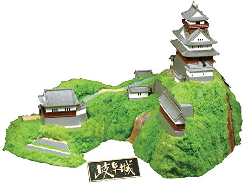 童友社 1/350 日本の名城 岐阜城 プラモデル S27