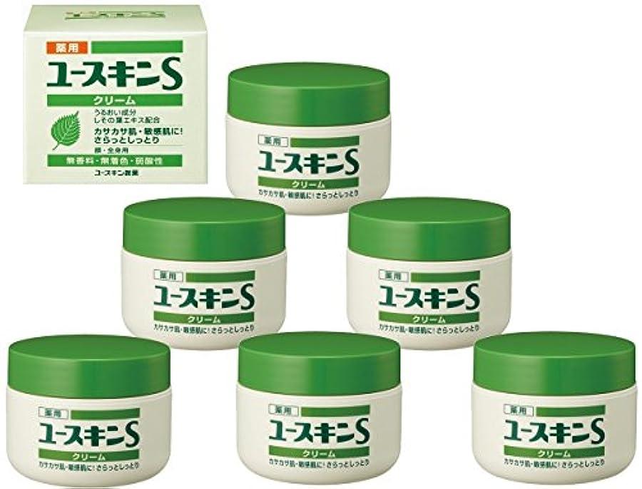 原油瞑想的ようこそ薬用 ユースキンS クリーム 70g×6個セット (敏感肌用 保湿クリーム) 【医薬部外品】