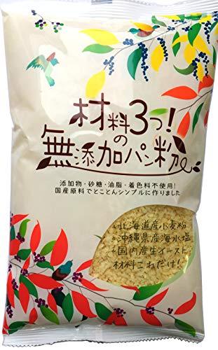 三木食品 材料3つの無添加パン粉200g×20個
