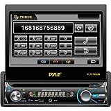 """Pyleオーディオ、Inc–Pyle plts78dub車DVDプレーヤー–7インチタッチスクリーンLCD–単一DIN–DVDビデオ、MPEG - 4、ビデオCD–AM、FM–Secureデジタル( SD )、マルチメディアカード( MMC )–Bluetooth–補助input1440X 234–in-dash """"製品カテゴリ:自動車& Marineオーディオ/ビデオ/自動車& Marineビデオプレーヤー/レコーダー"""""""