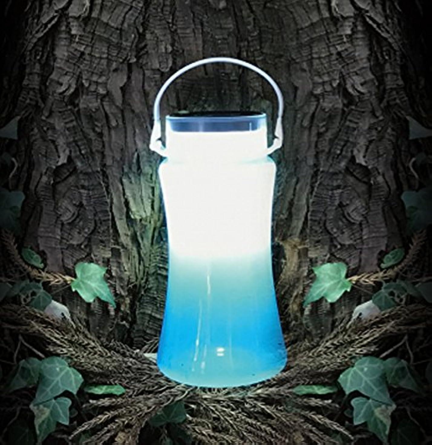 ビームおばあさん繁栄マクロス ソーラー&USB充電 防水ボトルランタン MEL-78