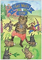 Cardoo Get Well Fairy Story Card Puss In Boots [並行輸入品]