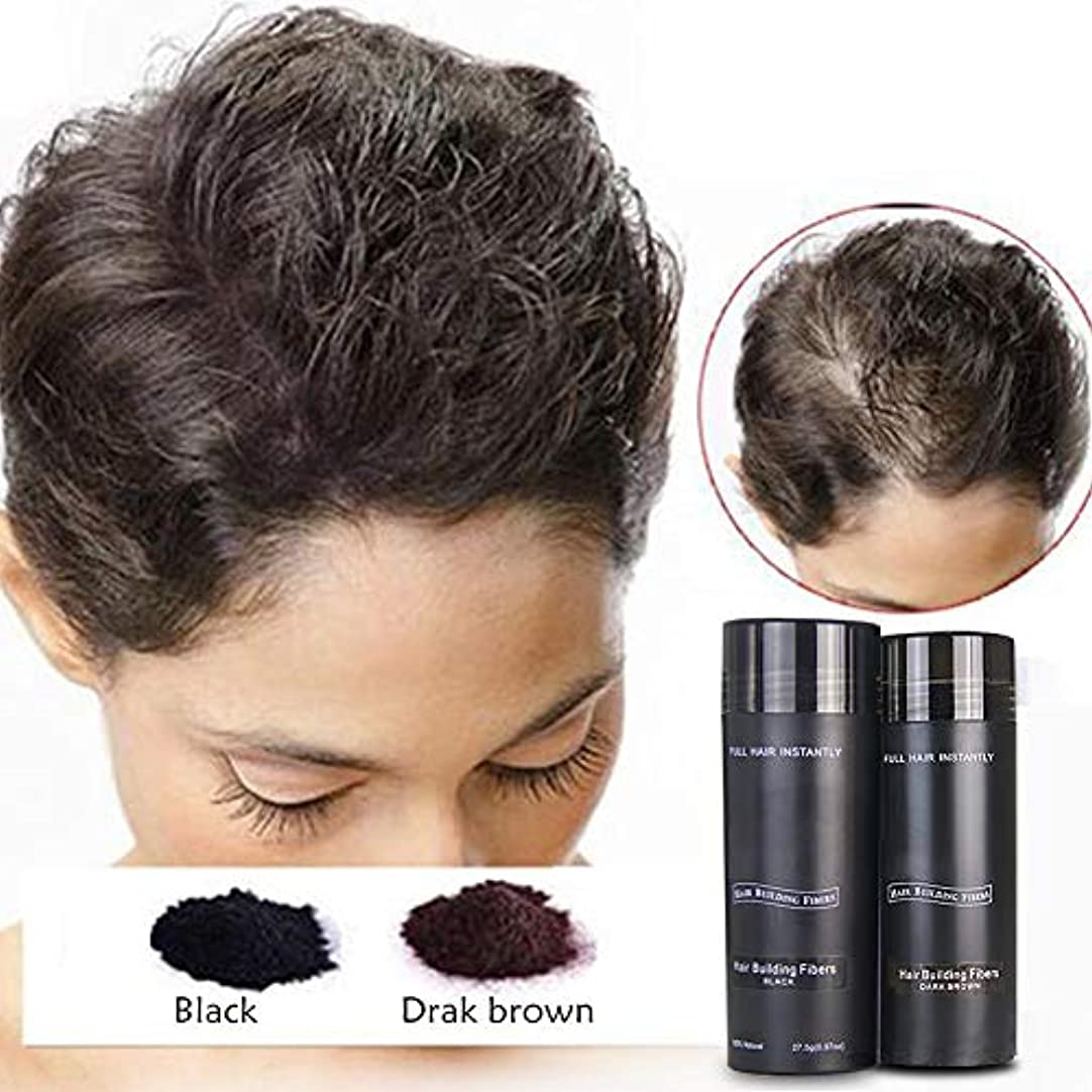 合金擬人化ポジティブ増毛ケア用品 ヘアパウダー ポンポンパウダー 毛髪発生繊維 静電吸着原理 男性と女性 毛髪をより自然で濃厚に見せます