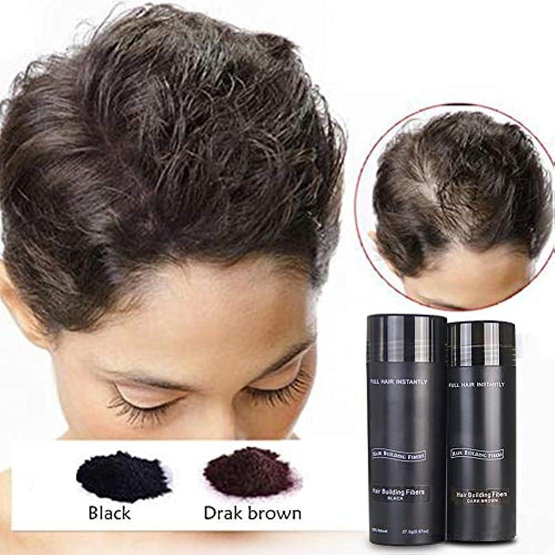 操るシミュレートするアーク増毛ケア用品 ヘアパウダー ポンポンパウダー 毛髪発生繊維 静電吸着原理 男性と女性 毛髪をより自然で濃厚に見せます