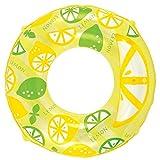 浮き輪 100cm カットインレモン