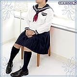 中間服セーラー服セット サイズ:JUMBO ■スノーセーラー■長袖セーラー■