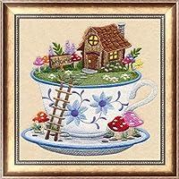 ダイヤモンド絵画動物花リビングルームの寝室の絵画家の装飾5D Diyクロスステッチ20×30 Cm F