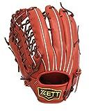 ZETT(ゼット) 野球 軟式 外野 グラブ(グローブ) プロステイタス (左投げ用) BRGB30727 ボルドーブラウン