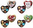 ゴンチャロフ バレンタインチョコレート 2020 クッカ 4種類セット ギフト袋付き
