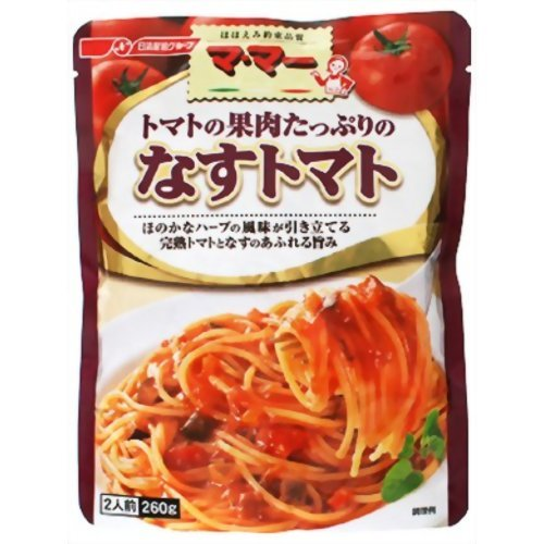 マ・マー トマトの果肉たっぷりのなすトマト 260g