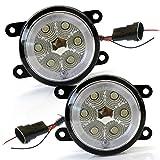 ステップワゴンRP RP イカリング フォグランプ LED CCFL プロジェクター ホワイト