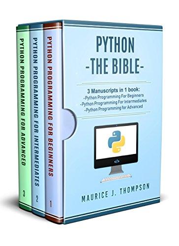 Python: 3 Manuscripts in 1 boo...