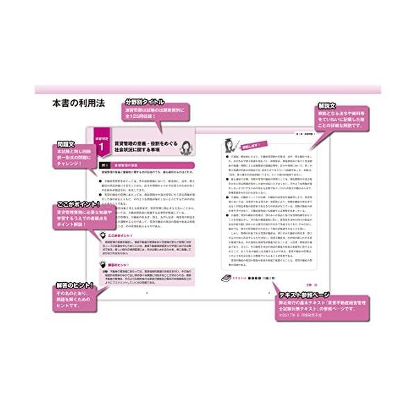 賃貸不動産経営管理士 試験対策問題集の紹介画像2