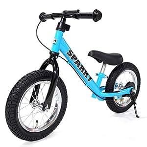 SPARKY ブレーキ付 ペダルなしキッズバイク SPARKY BLUE