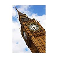 Photo Landmark London UK Big Ben Parliament Wall Art Print 写真ランドマークロンドンイギリス壁