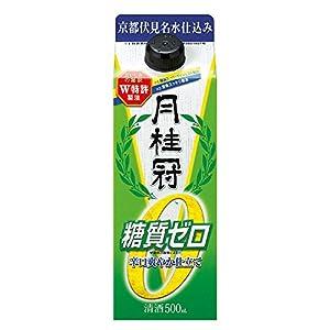 月桂冠 超辛口 糖質ゼロパック 500ml [京都府/辛口]
