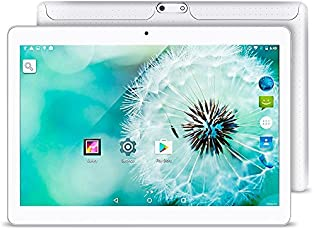 10.1 Inch Android 5.1 Tablet Dual SIM Card Slots Cell Phone Tablet PC 2G/3G/Wifi 1GB+16GB MTK 6580 Quad-Core IPS 800x1280 Touch Screen [並行輸入品]