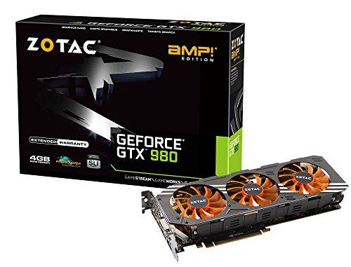 ZOTAC GeForce GTX 980AMP グラフィックスボード VD5512 ZTGTX98-4GD5AMP01